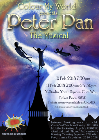 Peter Pan tickets on sale now!!!